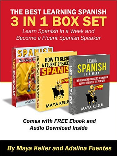 Excellent $1 Spanish Language Learning Book With Free Audible!